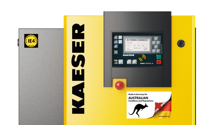 Kaeser Compressors Made in Germany for Australian conditions and regulations