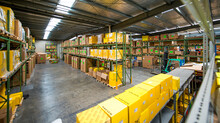 Regional spare parts warehouse